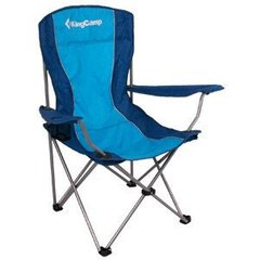 Кресло складное KingCamp Arms Chairin Steel (Arms Chairin Steel(KC3818) Blue)
