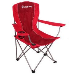 Кресло складное KingCamp Arms Chairin Steel (Arms Chairin Steel(KC3818) Red)